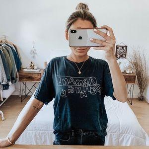 Armani Exchange Black T-Shirt
